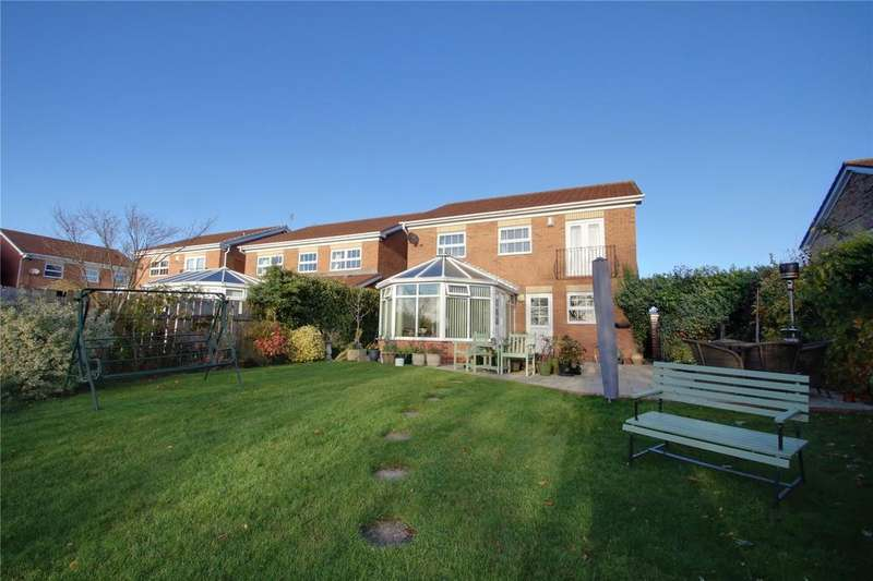 4 Bedrooms Detached House for sale in Challacombe Crescent, Ingleby Barwick