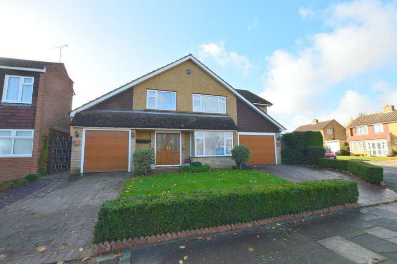 4 Bedrooms Detached House for sale in Holmfield Close, South Luton, Luton, LU1 3SX