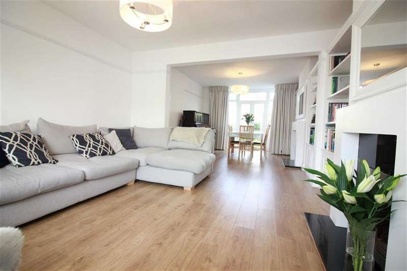 3 Bedrooms Semi Detached House for sale in The Crescent, Henleaze, Bristol