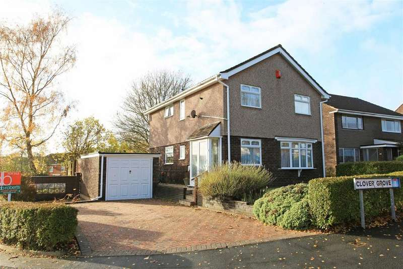 4 Bedrooms Detached House for sale in Clover Grove, Telford