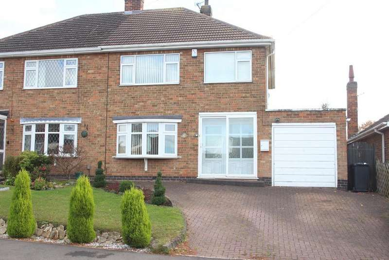 3 Bedrooms Semi Detached House for sale in St catherines close, Burbage