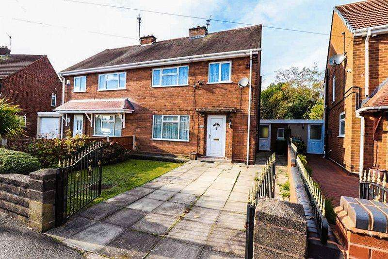 3 Bedrooms Semi Detached House for sale in Stella Road, Tipton