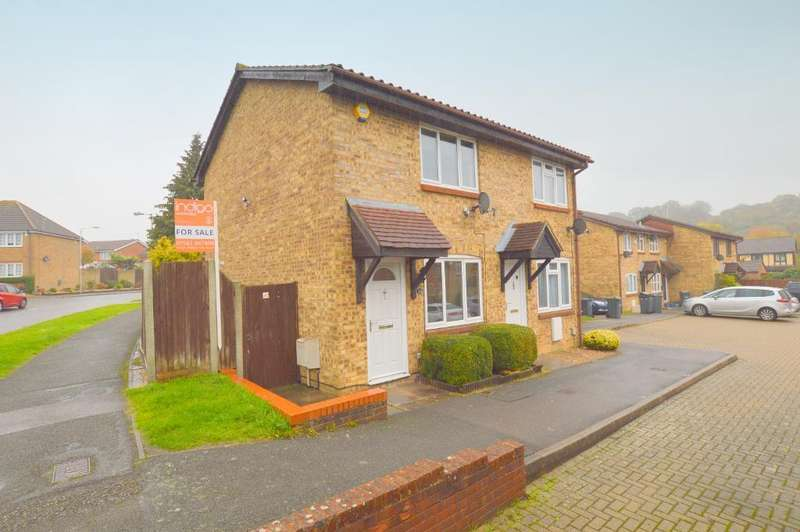 2 Bedrooms End Of Terrace House for sale in Pytchley Close, Bushmead, Luton, LU2 7YS