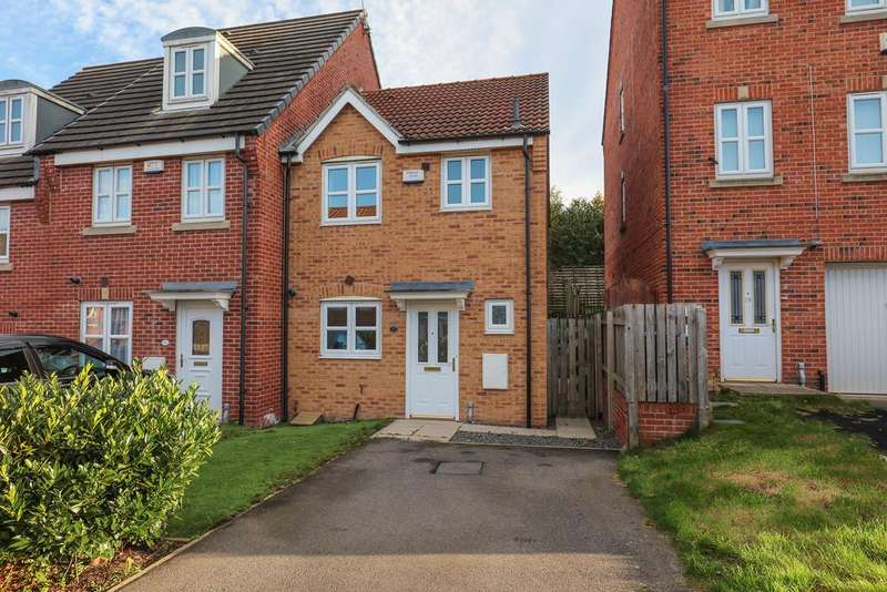 3 Bedrooms Town House for sale in Myrtle Drive, Heeley
