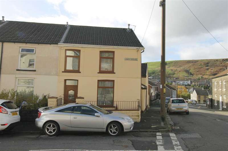 3 Bedrooms End Of Terrace House for sale in Simon Terrace, Williamstown, Tonypandy