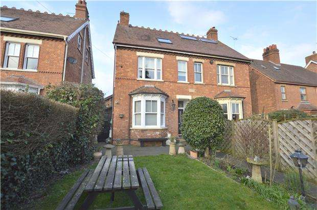 4 Bedrooms Semi Detached House for sale in Rope Walk, TEWKESBURY, Gloucestershire, GL20 5DS