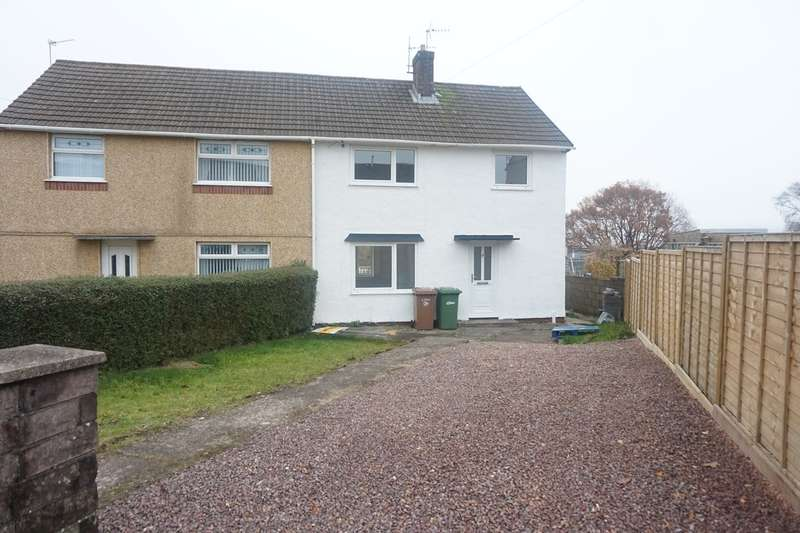 3 Bedrooms Semi Detached House for sale in Heath Road, Pontllanfraith, Blackwood, NP12