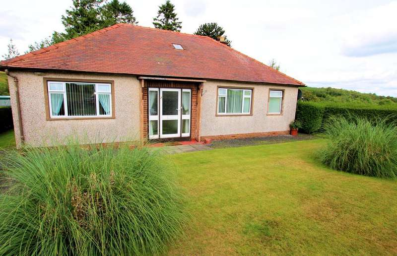 3 Bedrooms Detached Bungalow for sale in Killylour, Shawhead, Dumfries DG2