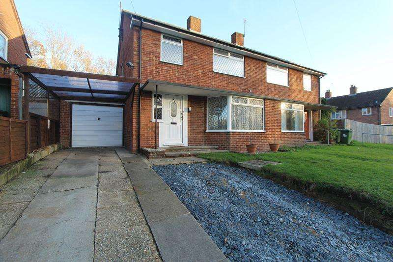 3 Bedrooms Semi Detached House for sale in Somerset Avenue, Harefield, Southampton