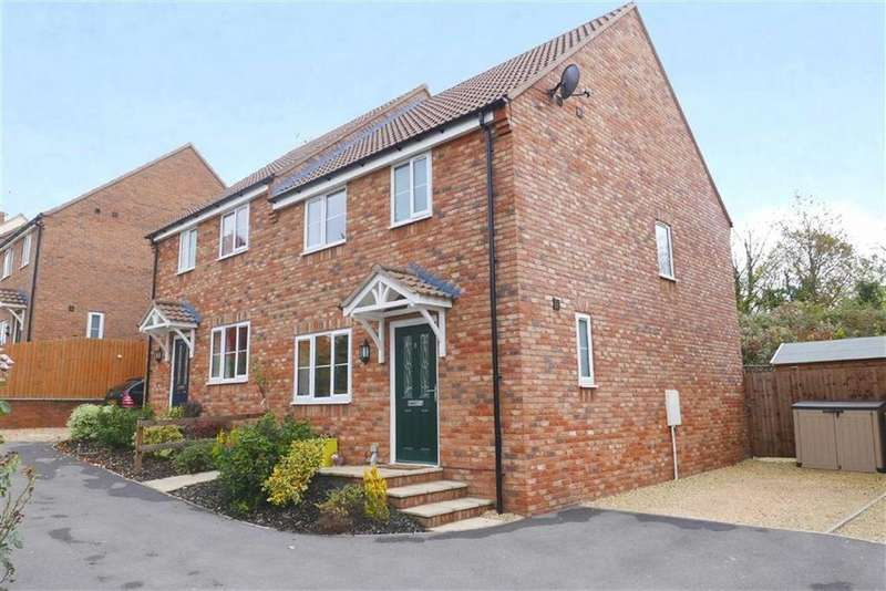 3 Bedrooms Semi Detached House for sale in Chapel Hill, Newport, GL13