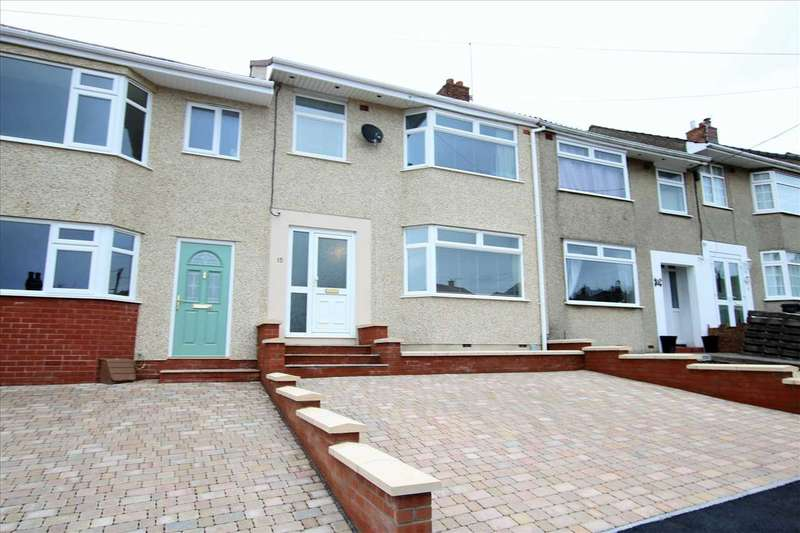 3 Bedrooms Terraced House for sale in Quarry Road, Hanham, Bristol