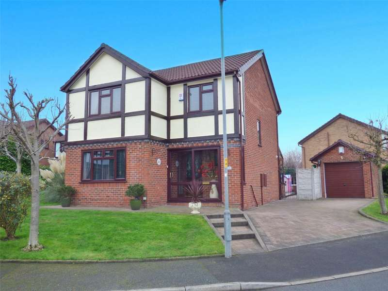 4 Bedrooms Detached House for sale in Hopcroft Close, Blackley, Manchester, M9