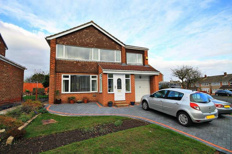 4 Bedrooms Detached House for sale in Cambridgeshire Drive, Belmont, Durham