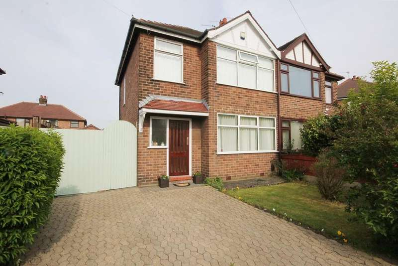 3 Bedrooms Semi Detached House for sale in Halsall Avenue, Warrington, WA2