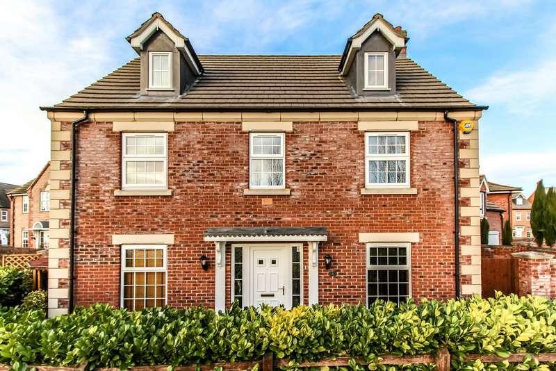 5 Bedrooms Detached House for sale in Delacorte Green , Spalding