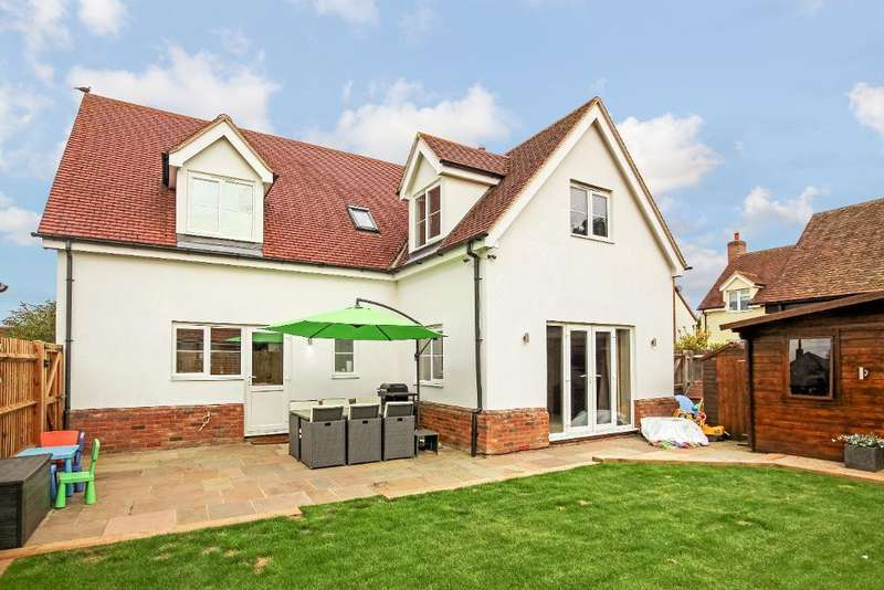 4 Bedrooms Detached House for sale in Greys Mews, Greenfield, Bedfordshire, MK45 5FE