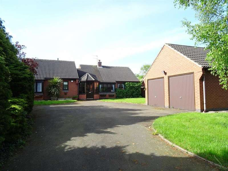 3 Bedrooms Detached Bungalow for sale in West End, Long Whatton, Leicestershire