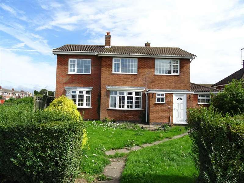 4 Bedrooms Detached House for sale in Station Road, Ibstock, Leicestershire