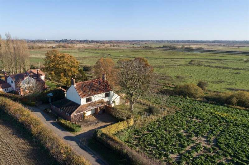 4 Bedrooms Detached House for sale in Staithe Road, Burgh St. Peter, Norfolk, NR34