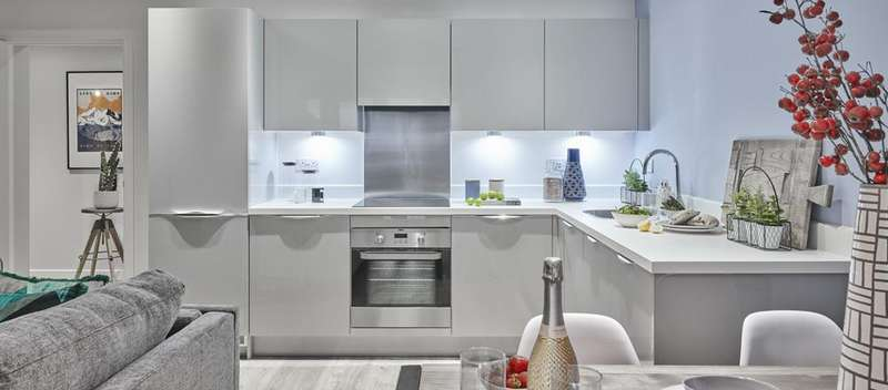 2 Bedrooms Flat for sale in The Mathos, Sterling Square, Bracknell, RG12