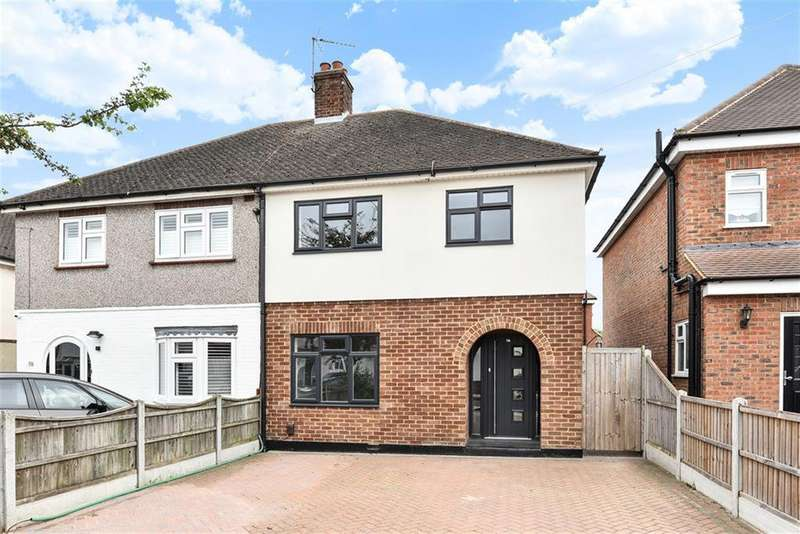 3 Bedrooms Semi Detached House for sale in Central Drive, Hornchurch, RM12 6BA