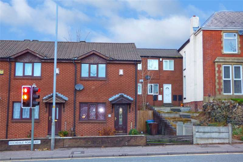 2 Bedrooms End Of Terrace House for sale in Rochdale Road East, Heywood, Greater Manchester, OL10