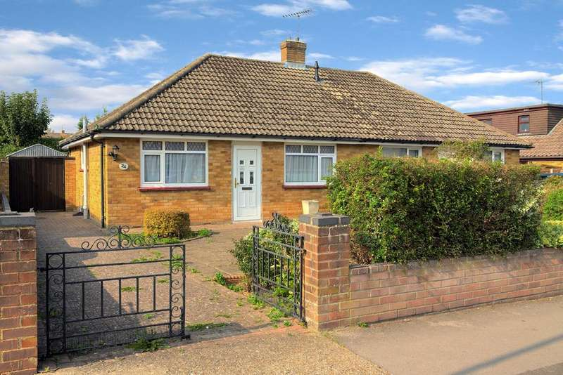 2 Bedrooms Semi Detached Bungalow for sale in Buckland Avenue, Basingstoke, RG22 6JH