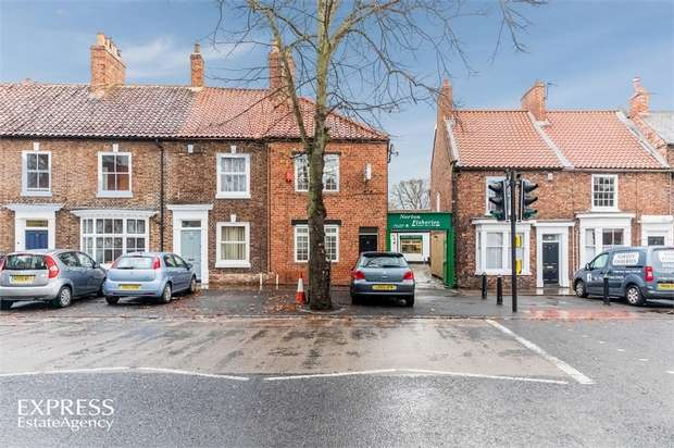 3 Bedrooms End Of Terrace House for sale in High Street, Norton, Stockton-on-Tees, Durham