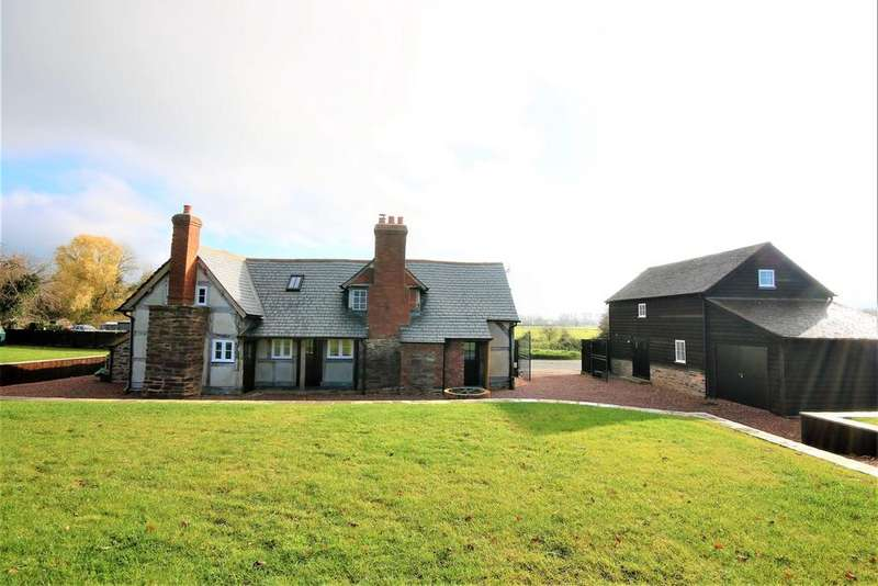 4 Bedrooms Cottage House for sale in Willersley, Herefordshire, HR3