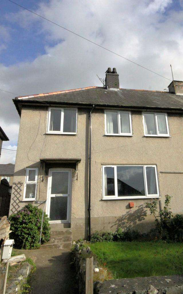 3 Bedrooms Semi Detached House for sale in LLWYNGWRIL LL37