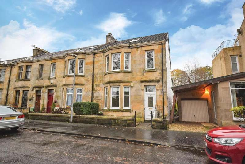 3 Bedrooms End Of Terrace House for sale in St James Avenue, Paisley, Renfreswshire, PA3 1SB
