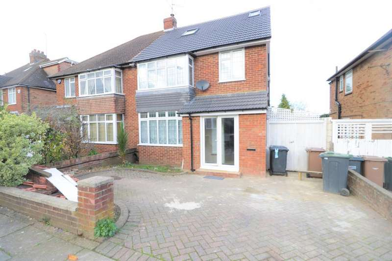 5 Bedrooms Semi Detached House for sale in Graham Gardens , LUton LU3