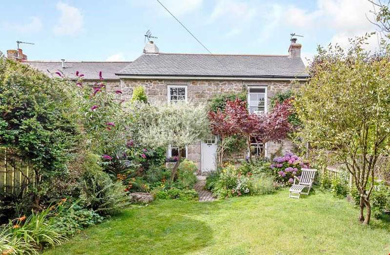 3 Bedrooms Semi Detached House for sale in Paul, Nr. Mousehole, Penzance, West Cornwall, TR19