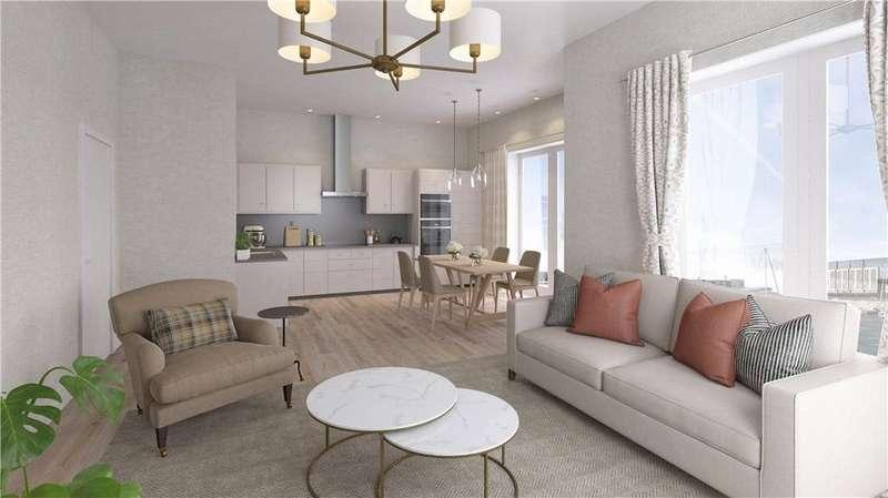 3 Bedrooms Flat for sale in Edinburgh Marina, Edinburgh, EH5