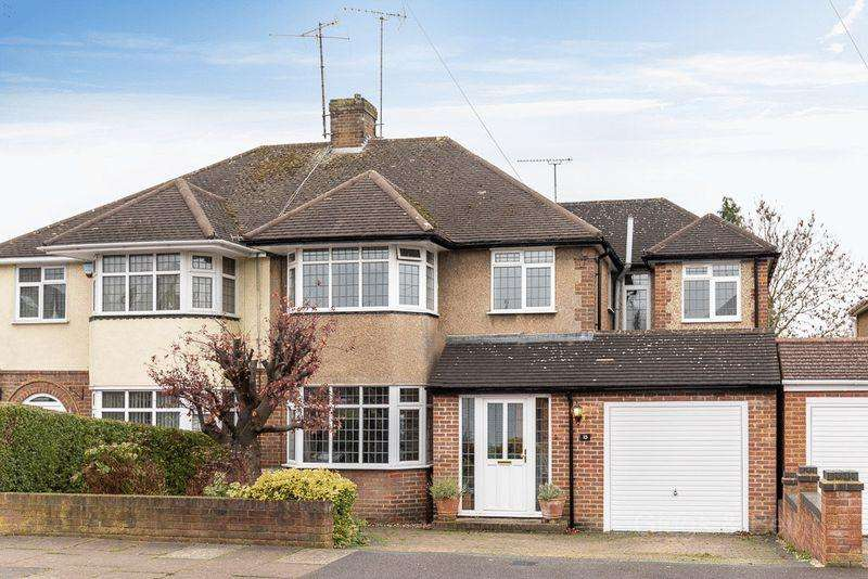 4 Bedrooms Semi Detached House for sale in Old Bedford Road Area
