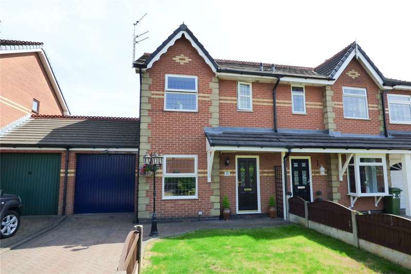 3 Bedrooms Semi Detached House for sale in Asquith Avenue, Dukinfield, Greater Manchester, SK16