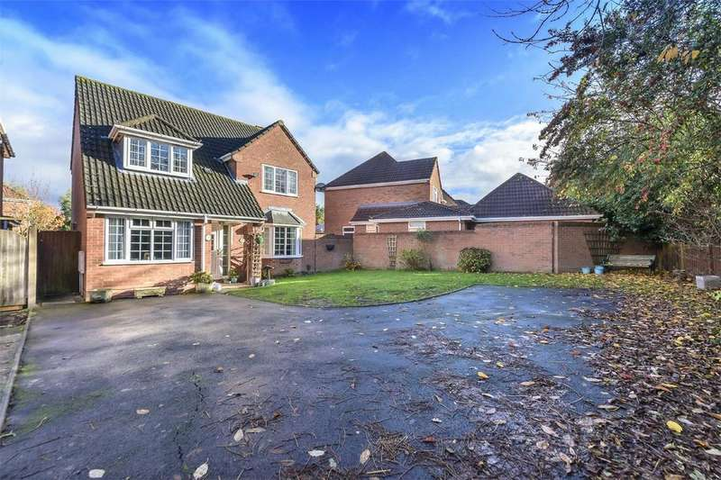 4 Bedrooms Detached House for sale in Fallow Road, Shawbirch, Telford, Shropshire
