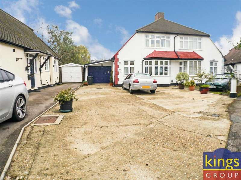 3 Bedrooms Semi Detached House for sale in Blackthorne Drive, London