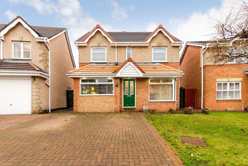 4 Bedrooms Detached House for sale in 7 Tern Road, Dunfermline KY11 8GA