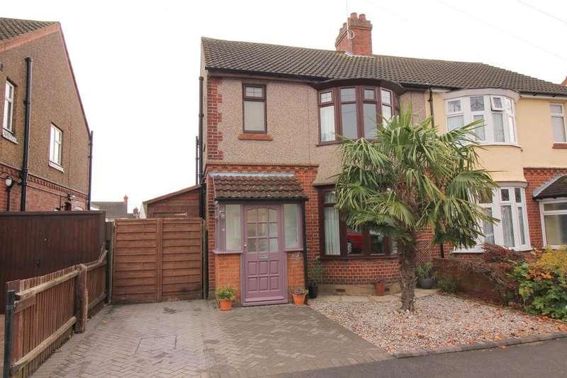 3 Bedrooms Semi Detached House for sale in Felix Avenue, Luton, Bedfordshire, LU2 7LE