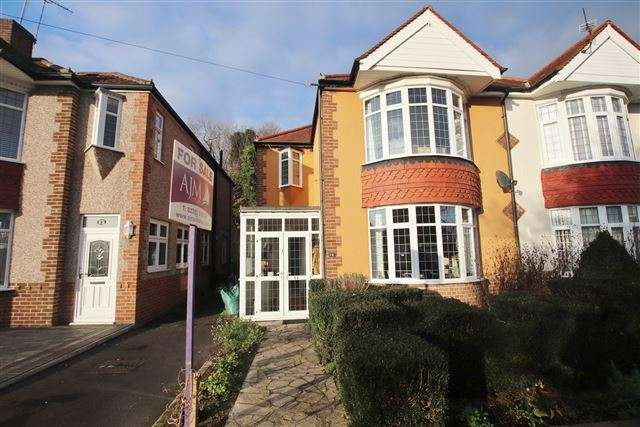 3 Bedrooms Semi Detached House for sale in Firgrove Crescent, Hilsea, Portsmouth, Hampshire, PO3 5LT