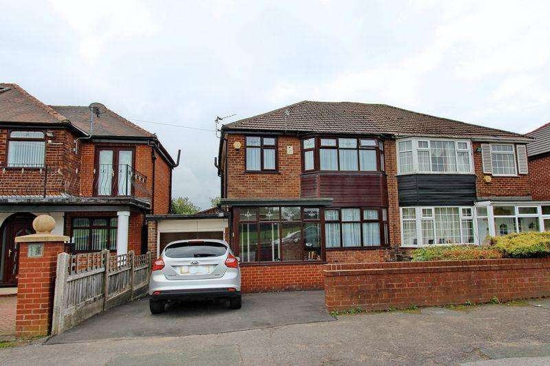 3 Bedrooms Semi Detached House for sale in Sheepfoot Lane, Prestwich, Manchester