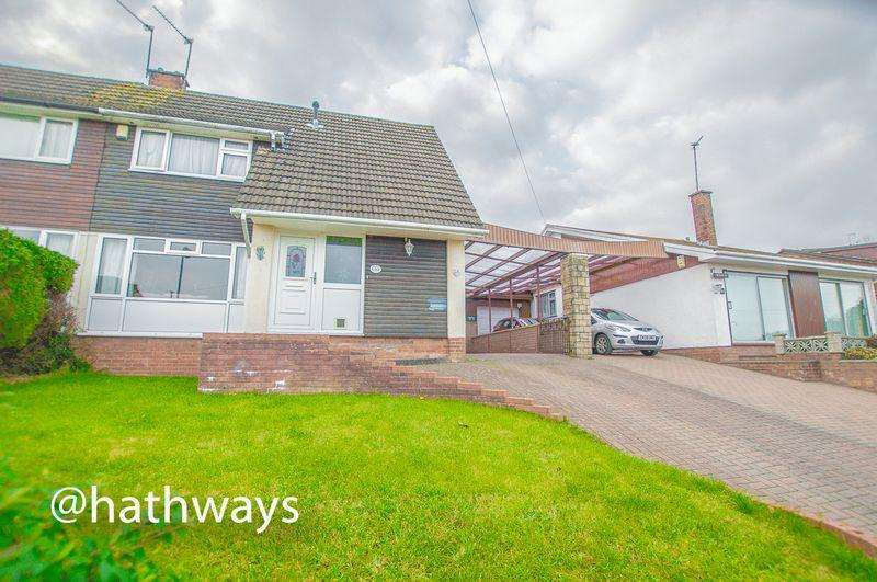 4 Bedrooms Semi Detached House for sale in Fairfield Road, Caerleon
