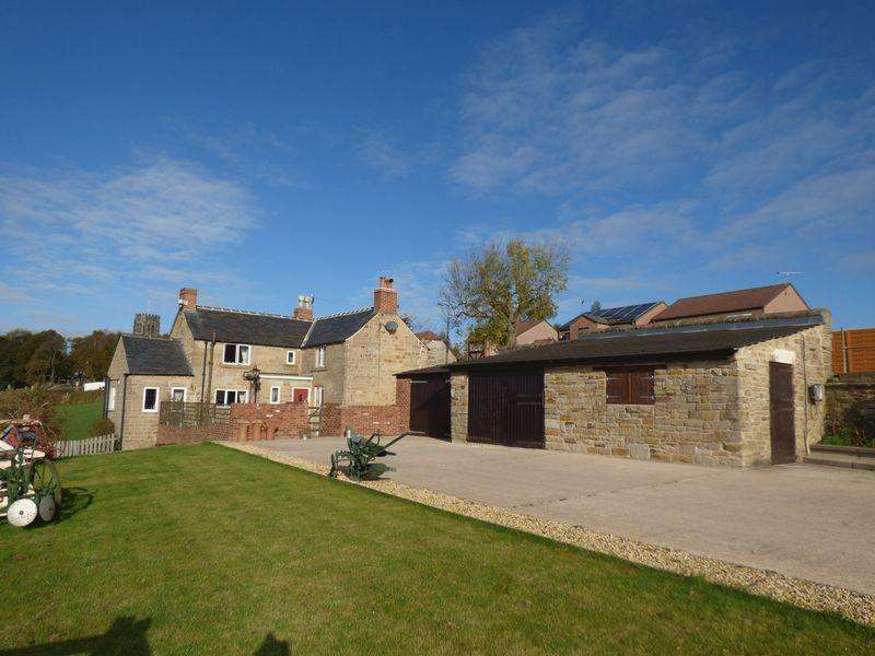 3 Bedrooms Equestrian Facility Character Property for sale in 16 Church Lane, North Wingfield,