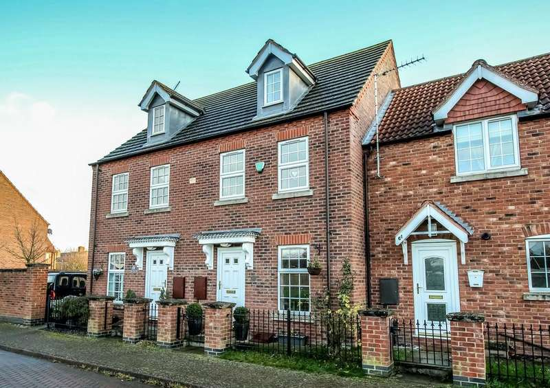 3 Bedrooms Town House for sale in Spalding, Lincs