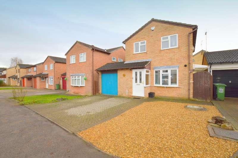 4 Bedrooms Detached House for sale in Arbour Close, Barton Hills, Luton, LU3 4AQ