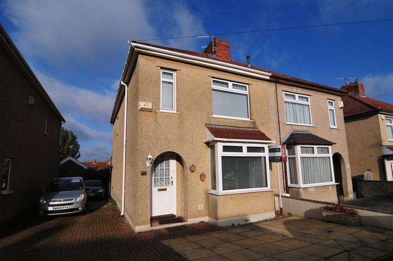 3 Bedrooms Semi Detached House for sale in Hengrove Lane, Hengrove, Bristol, BS14
