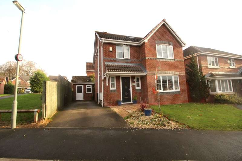 4 Bedrooms Detached House for sale in Nab Wood Drive, Chorley, PR7