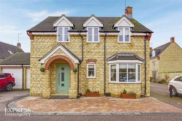 4 Bedrooms Detached House for sale in Church View, Weldon, Corby, Northamptonshire