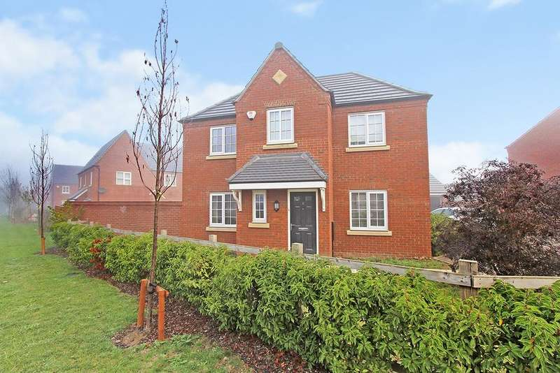 4 Bedrooms Detached House for sale in Juniper Drive, Houghton Conquest, Bedford, MK45